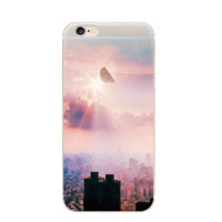 Sunrise Painting Pattern Iphone 7 7 Plus &  6 6s Plus & 5 5s Cover Case