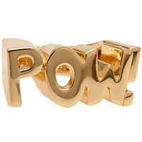 nOir The nOir x DC Comics Pow Ring in Gold