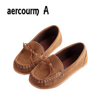Aercourm A 2017 NEW children PU leather Sneakers girls shoes baby princess shoes kids toddler shoes childen Moccasins Sneakers