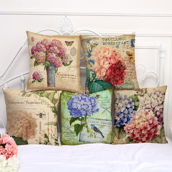 Floral Pillow Covers 1