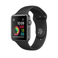 Apple Watch - Space Grey Aluminium Case with Black Sport Band