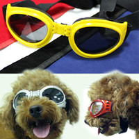 Dog Accessories Cute Glasses 6 Different Colors Pet Supply-Color White