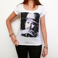 Johnny Depp: pretty t-shirt, celebrity picture 7015256