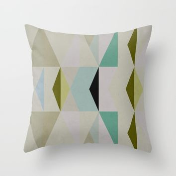 The Nordic Way XII Throw Pillow by Metron