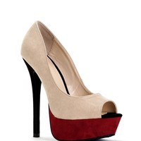 Sale- Natural Bombshell Heels