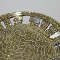 Plate with Etchings