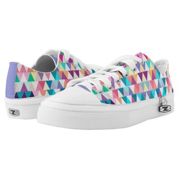 Triangles #4 Shoes Printed Shoes