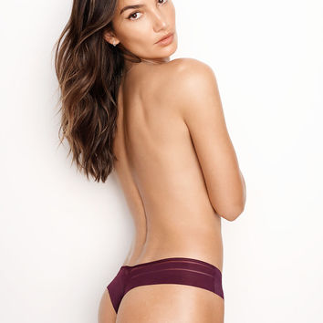 No Show Mesh-Back Thong Panty - Sexy Illusions by Victoria's Secret - Victoria's Secret