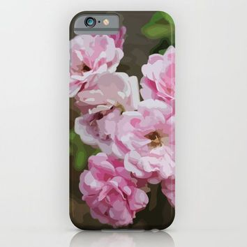 Romantic and Floral iPhone & iPod Case by Paula Oliveira