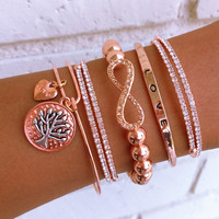 Tree of Life Rose Stack