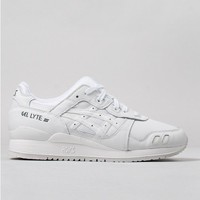 Buy Asics Gel Lyte III Shoes - White/White from Urban Industry | Urban Industry