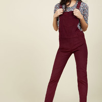 By and Bicycle Overalls | Mod Retro Vintage Jackets | ModCloth.com