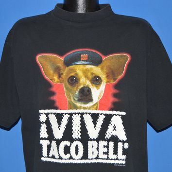 90s Viva Taco Bell Chihuahua t-shirt Extra Large