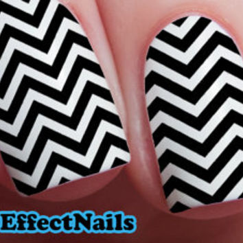 Chevron Nail Decals