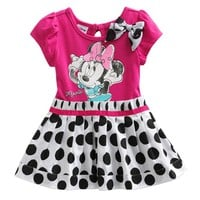 Disney Mickey Mouse & Friends Minnie Mouse Dotted Dress - Baby