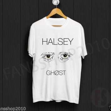 HALSEY GHOST Badlands Album 2015 Hold Me Down White Unisex TShirt Size S to XL