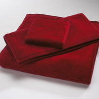 Claret MicroCotton Luxury Towels