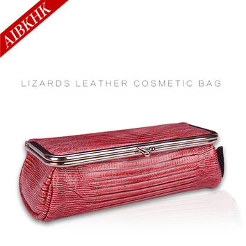 Cosmetic Bag Brand Makeup Bag Portable Small Travel Makeup Organizer Brush Necessary Beauty Case Fashion Mini Cosmetic Pouch Bag