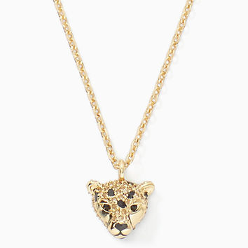 run wild cheetah mini pendant | Kate Spade New York