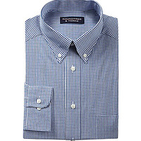 Roundtree & Yorke Long-Sleeve Button-Down Sportshirt - White