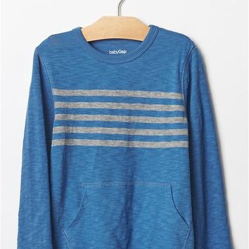 Gap Engineer Stripe Pocket Tee