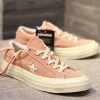 Converse One Star Women Men Couples Sneakers Leisure shoes Sneaker Sport Shoes Pink I-CSXY