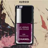 Chanel Nail Polish provocation IPhone 6 Plus Case Auroid