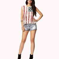 American Flag Muscle Tee | FOREVER 21 - 2052250381