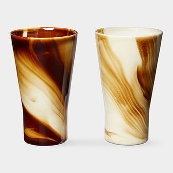 Marbled Coffee Tumbler Set | MoMA