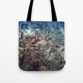 Shattered Tote Bag by Lyle Hatch