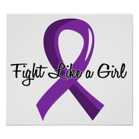 Fight Like A Girl Fibromyalgia 41.8 Poster
