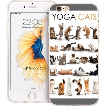 Yoga Kittens iPhone Case