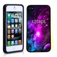Iphone 5 5S Case Thinshell Case Protective Iphone 5 5S Case Shawnex Escape Galaxy Hipster Quote