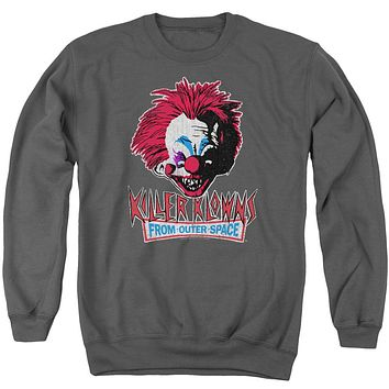 Killer Klowns From Outer Space - Rough Clown Adult Crewneck Sweatshirt