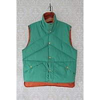 Vintage Reversible  Outdoorsman Down Vest