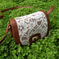FloralGarden — Sweet Lace Satchel For Summer