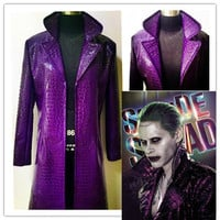 Harley Quinn Suicide Squad cosplay costume custom made suits Halloween costumes for adult Suicide Squad Joker cosplay costume