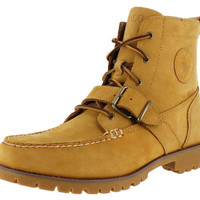 Polo Ralph Lauren Redmond Men's Oiled-Leather Casual Boots
