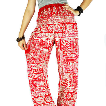 Elephant cloches Thai pants Hippie cloches Palazzo pants Hippie pants Gypsy pants  Harem pants Elephant pants