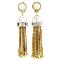One Kings Lane - Style Guide - Rachel Zoe Tassel Earrings