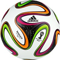 adidas Brazuca 2014 Mini Soccer Ball - White/Black | DICK'S Sporting Goods