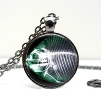 Fish X-Ray Tech Necklace
