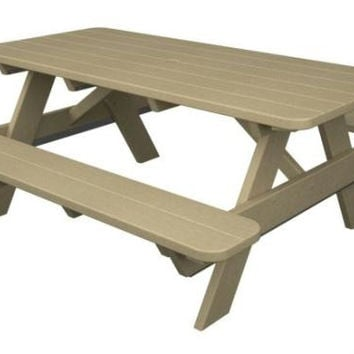 Picnic Table - Khaki