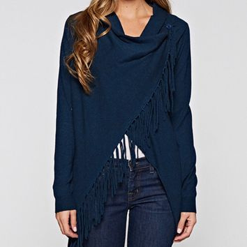 Carys Spring Deep Blue Sweater Lovestitch