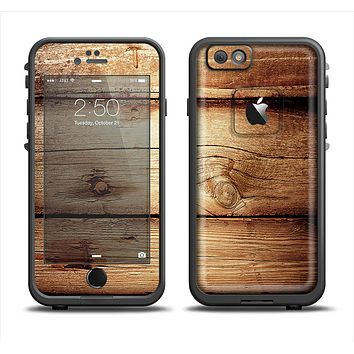 The Old Bolted Wooden Planks Apple iPhone 6/6s LifeProof Fre Case Skin Set