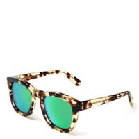 WILDFOX Classic Fox Wayfarer Mirror Sunglasses | Bloomingdales's