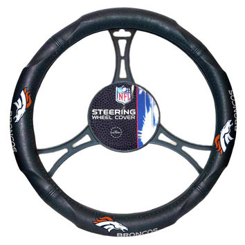 Denver Broncos NFL Steering Wheel Cover (14.5 to 15.5)