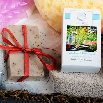 Gardener's Best Friend Jewelry Soap (Comes with Jewel!)