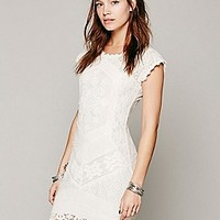 Free People Womens Beverly Crochet Dress - B