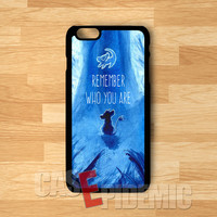 Simba Disney Who You Are Lion King -144 for iPhone 4/4S/5/5S/5C/6/ 6+,samsung S3/S4/S5,samsung note 3/4